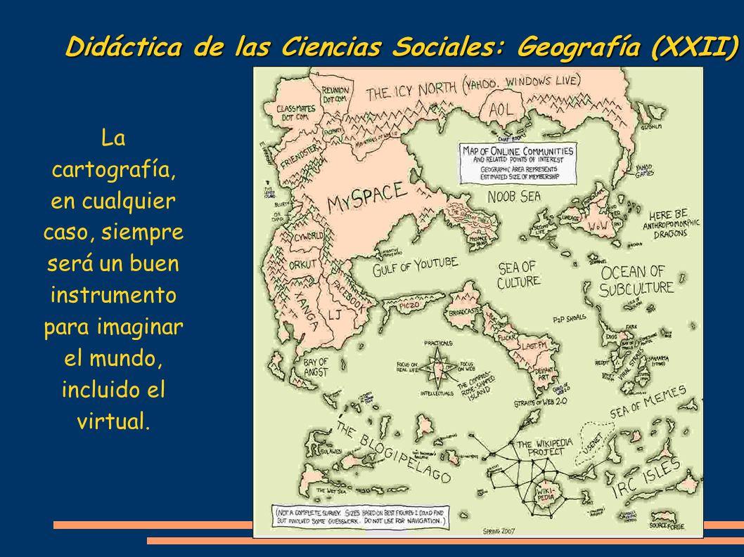 Didáctica de las Ciencias Sociales: Geografía (XXII)