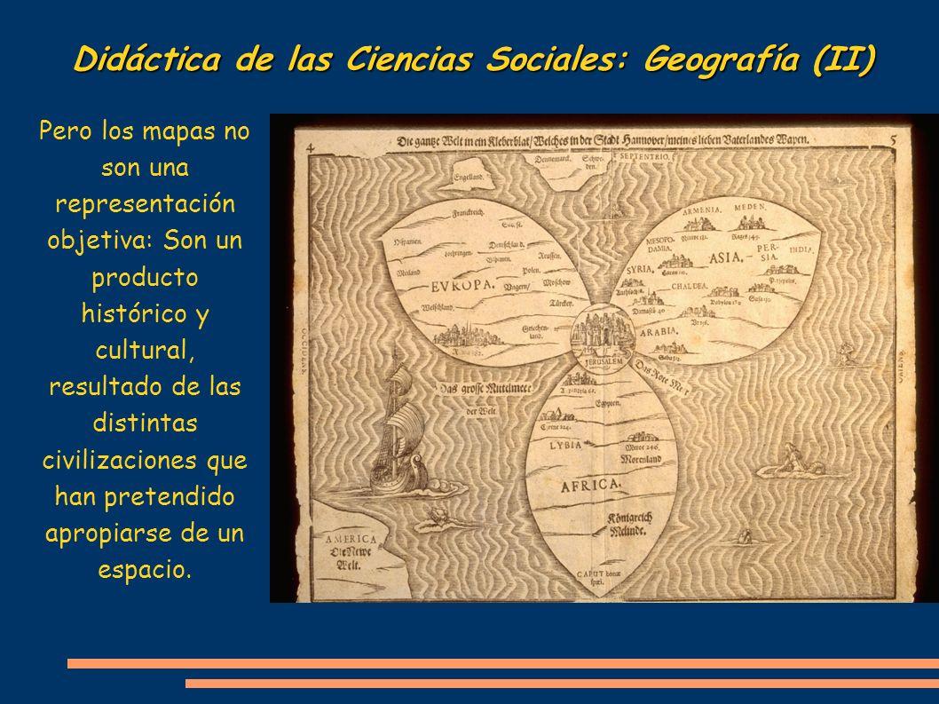 Didáctica de las Ciencias Sociales: Geografía (II)