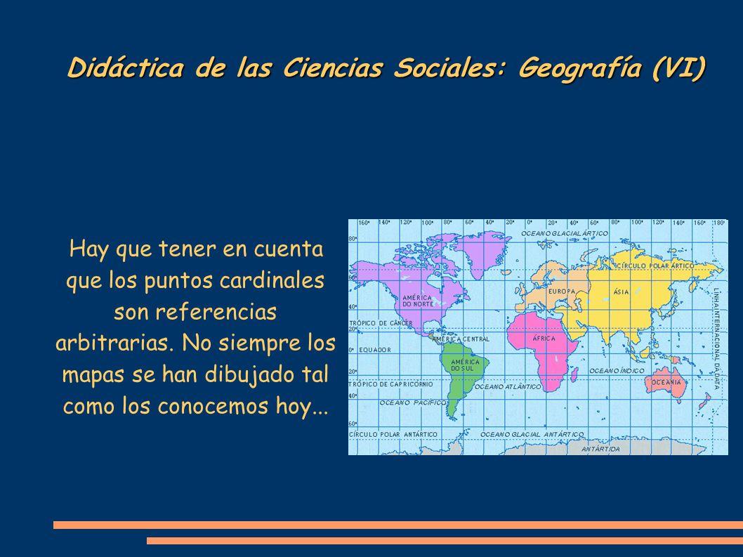 Didáctica de las Ciencias Sociales: Geografía (VI)
