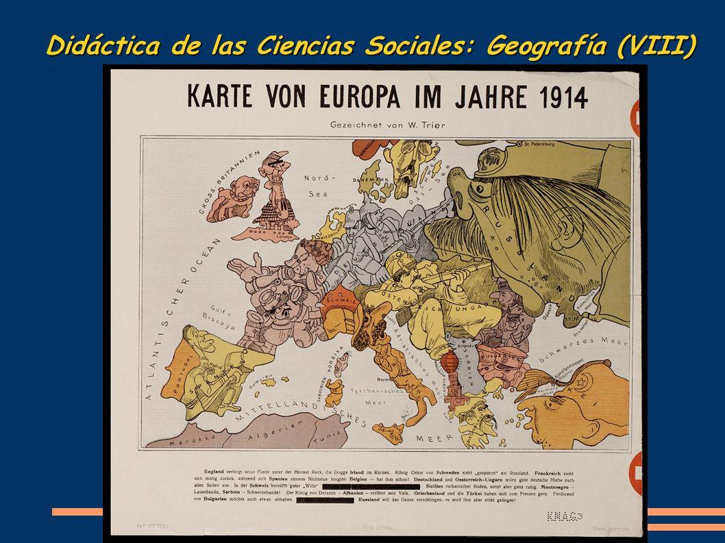 Didáctica de las Ciencias Sociales: Geografía (VIII)