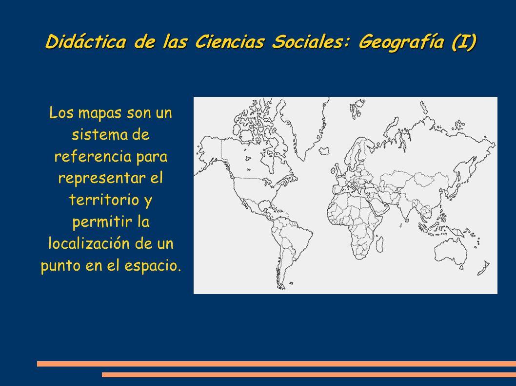 Didáctica de las Ciencias Sociales: Geografía (I)