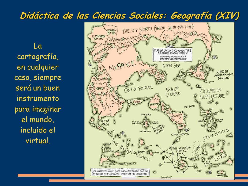Didáctica de las Ciencias Sociales: Geografía (XIV)