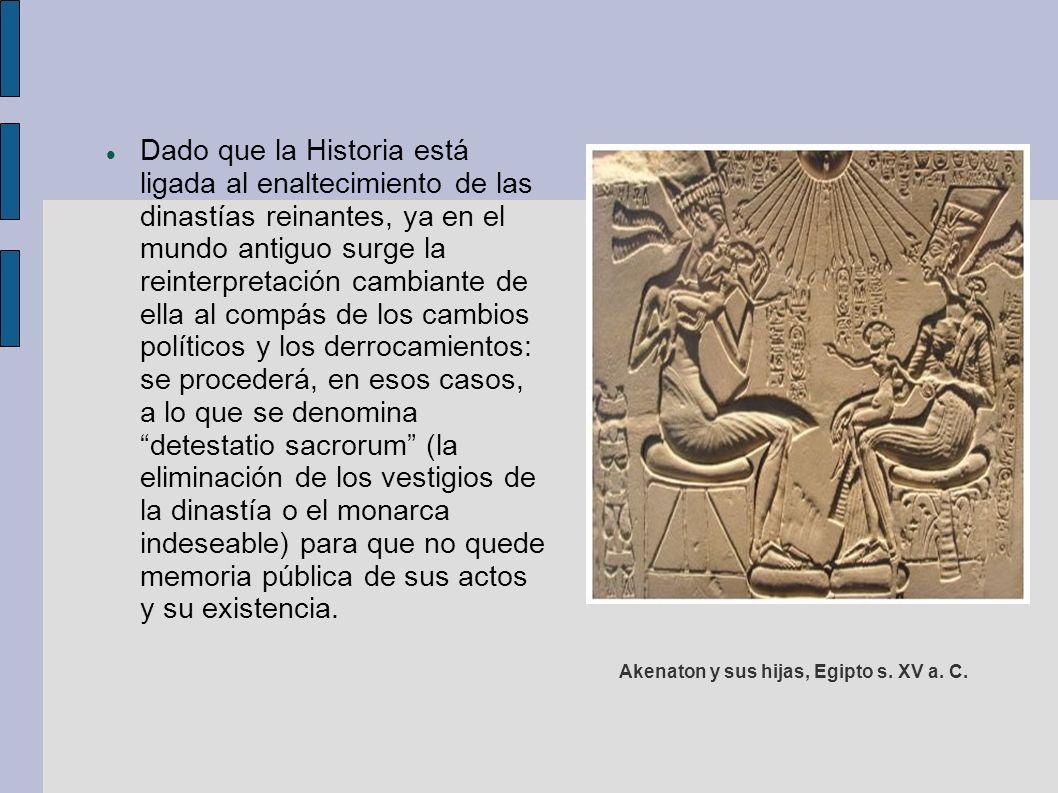 Akenaton y sus hijas, Egipto s. XV a. C.