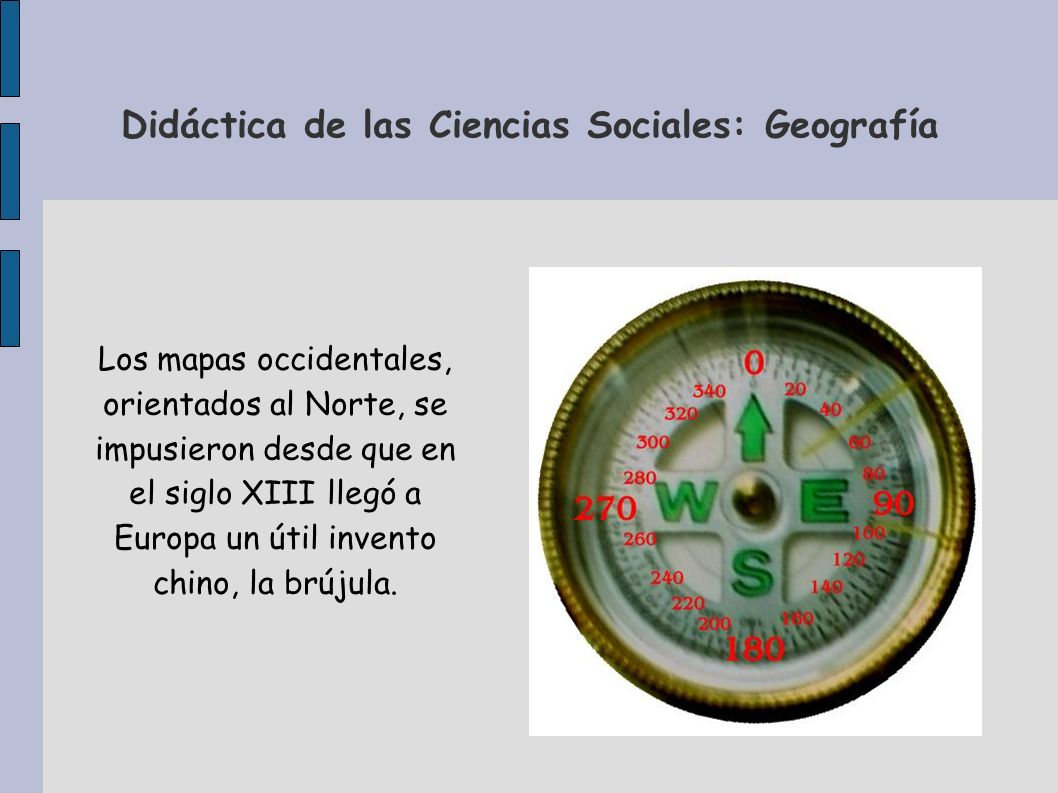 Didáctica de las Ciencias Sociales: Geografía