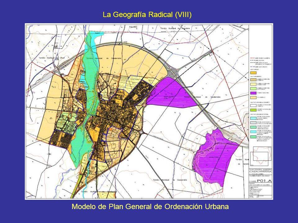 Modelo de Plan General de Ordenación Urbana