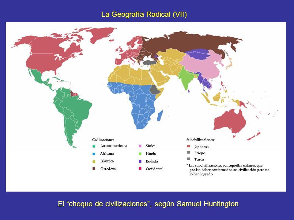 El choque de civilizaciones , según Samuel Huntington