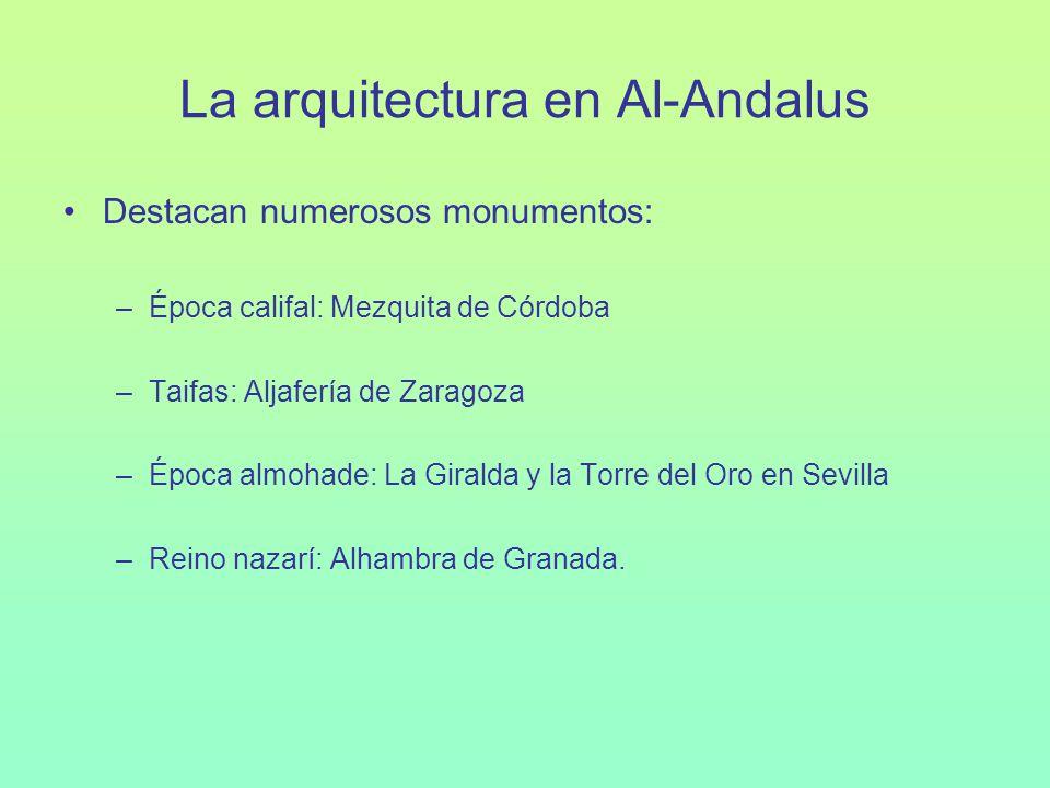 La arquitectura en Al-Andalus