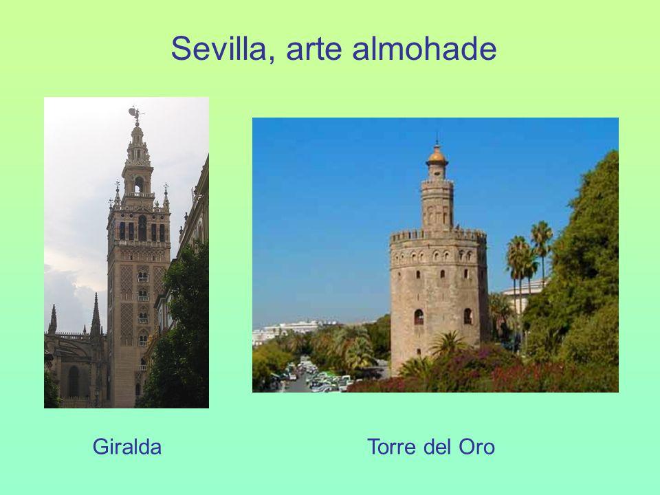 Sevilla, arte almohade Giralda Torre del Oro
