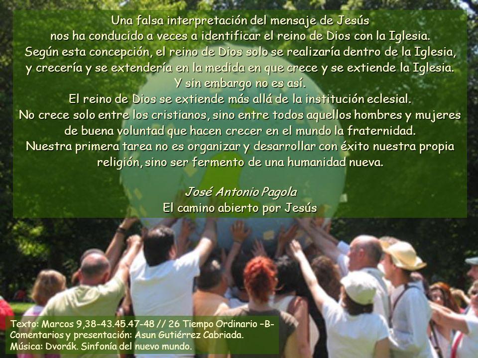 José Antonio Pagola El camino abierto por Jesús