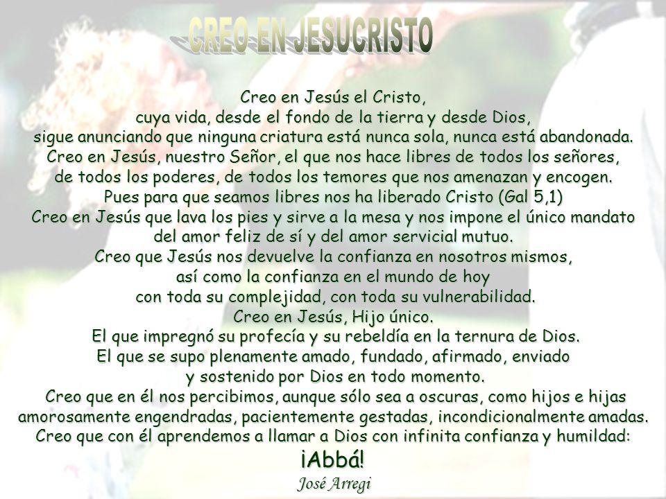 CREO EN JESUCRISTO José Arregi