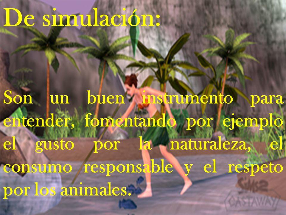 De simulación: