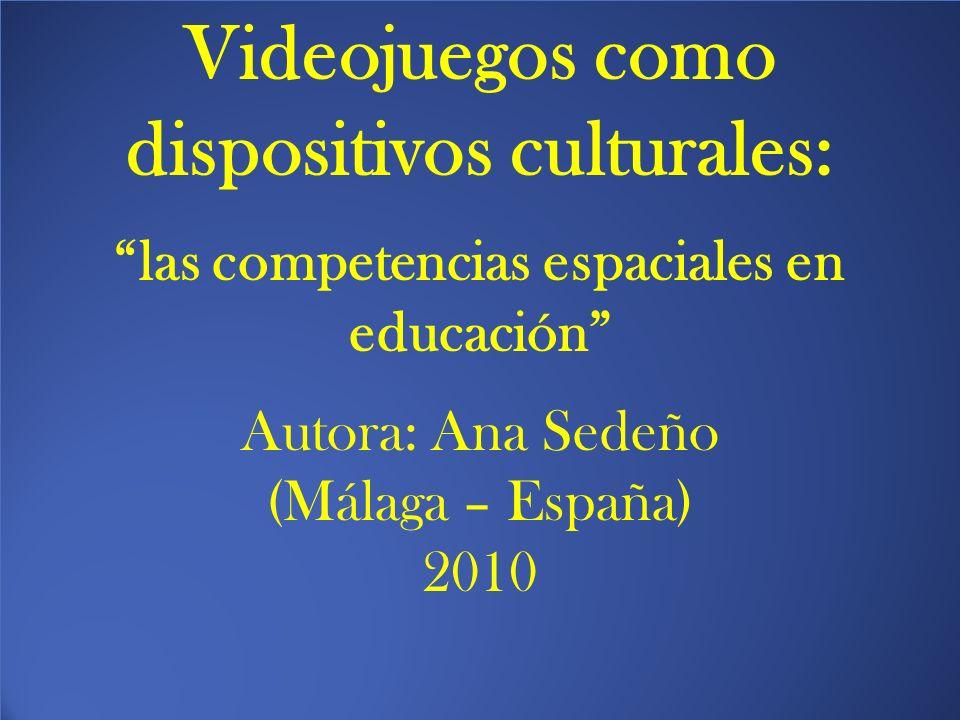 Videojuegos como dispositivos culturales: