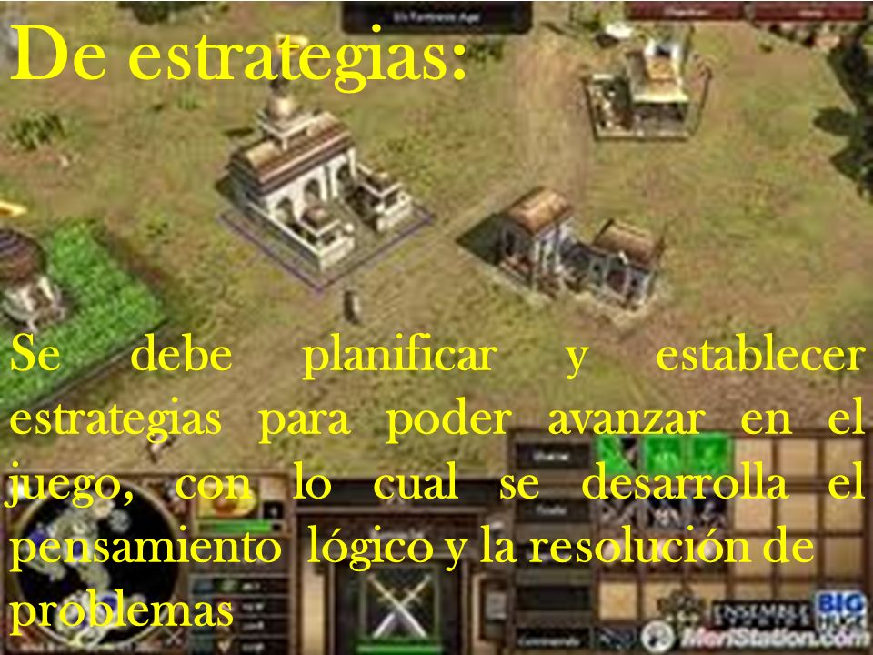 De estrategias: