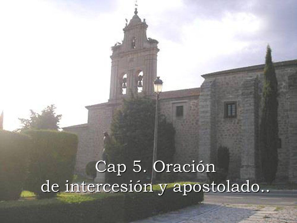 Cap 5. Oración de intercesión y apostolado..