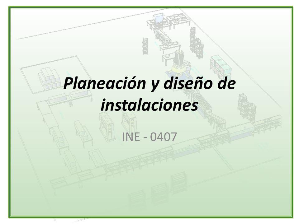 planeaci n y dise o de instalaciones ppt video online On planeacion y diseño de instalaciones pdf