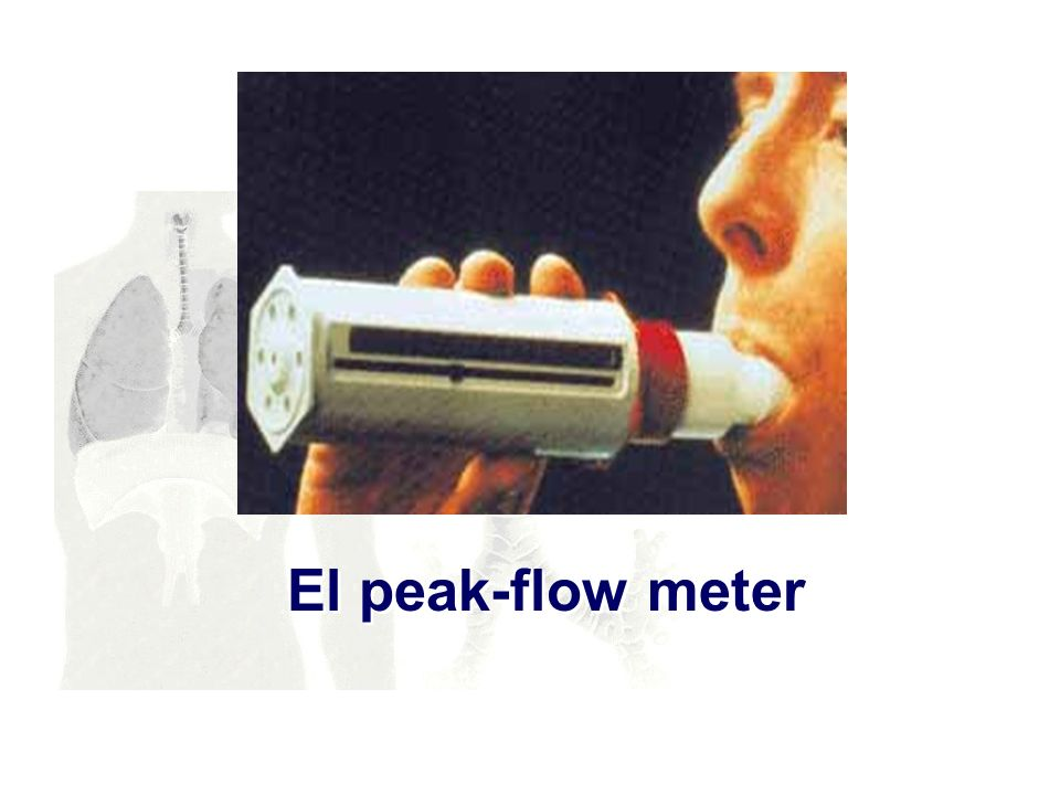 El peak-flow meter