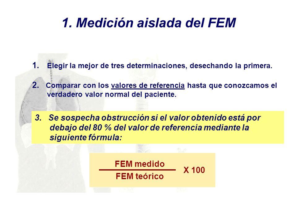 1. Medición aislada del FEM