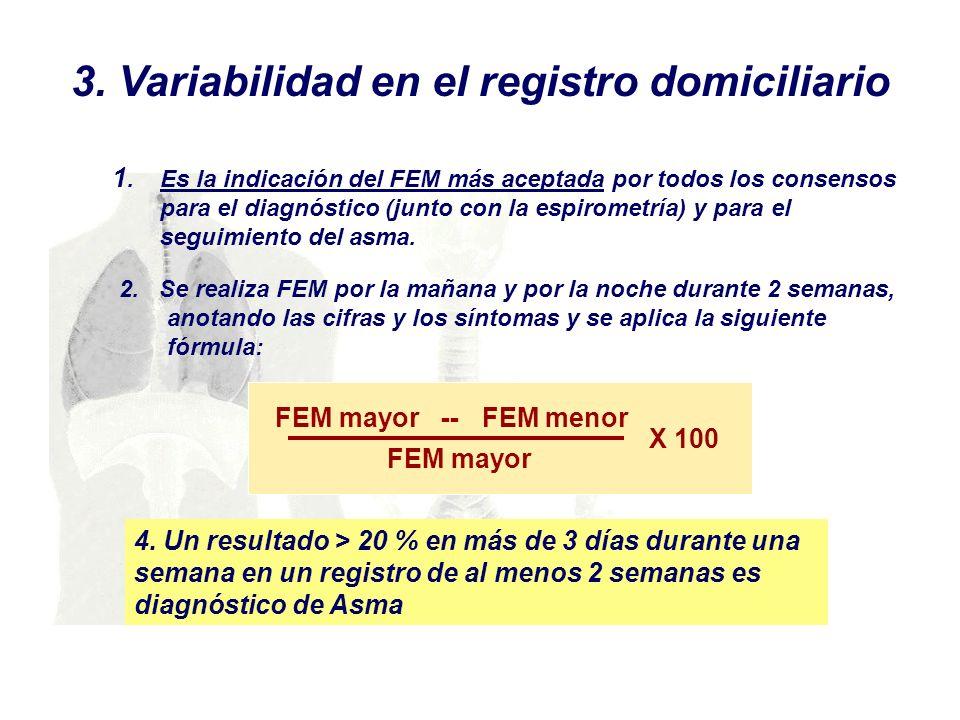 3. Variabilidad en el registro domiciliario