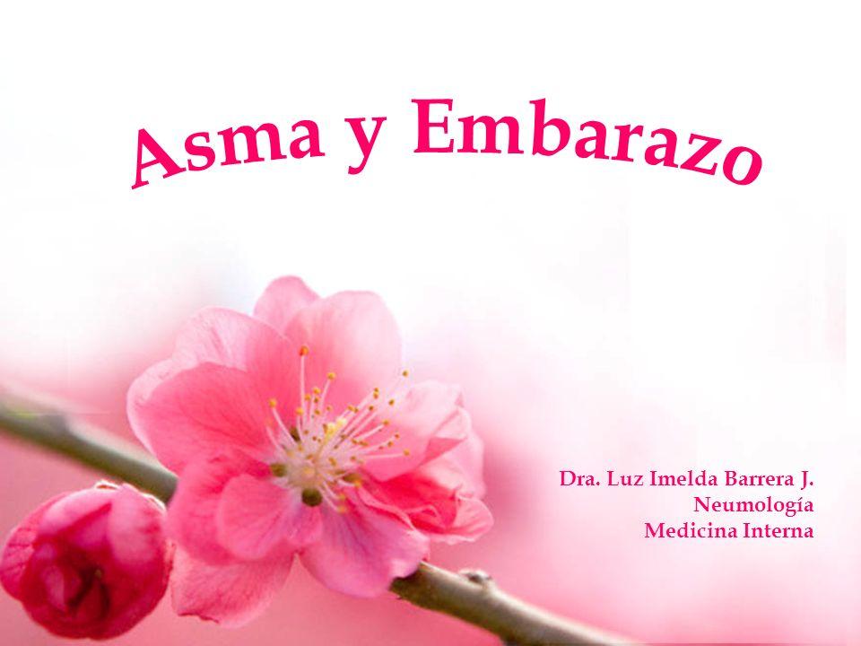Dra. Luz Imelda Barrera J. Neumología Medicina Interna