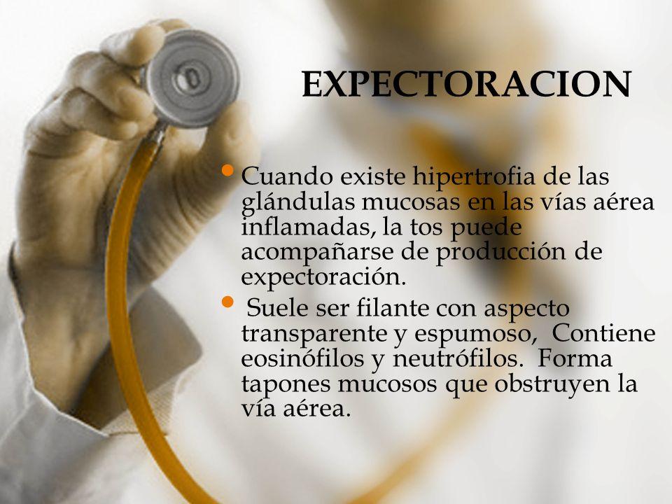 EXPECTORACION