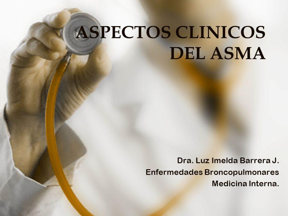 ASPECTOS CLINICOS DEL ASMA