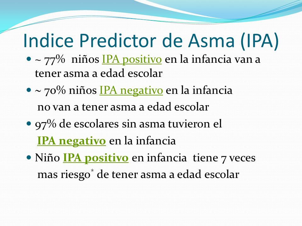 Indice Predictor de Asma (IPA)