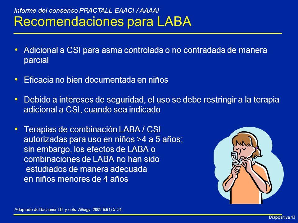 Recomendaciones para LABA