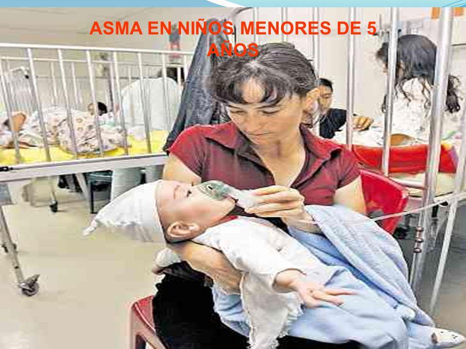 ASMA EN NIÑOS MENORES DE 5 AÑOS