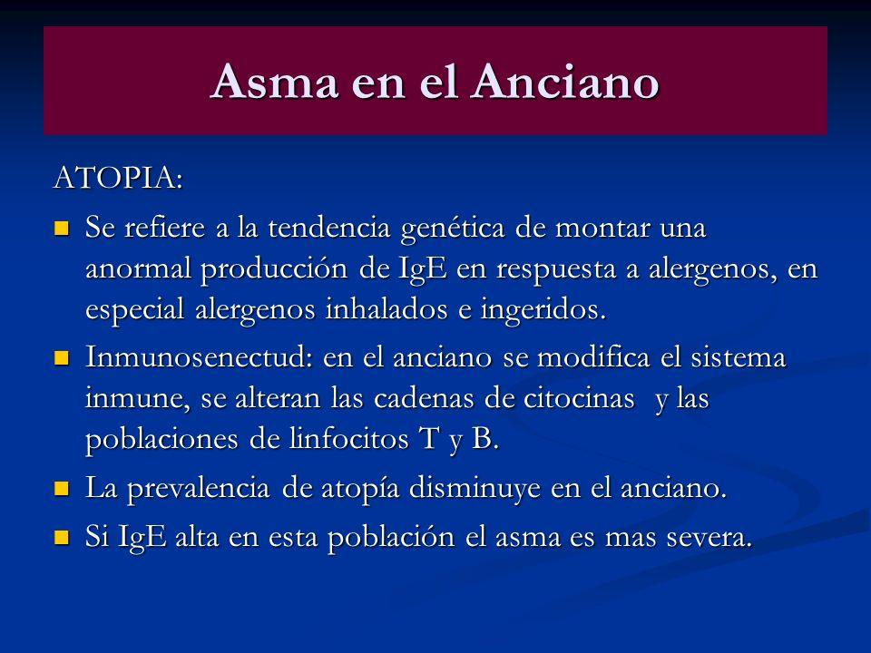 Asma en el Anciano ATOPIA: