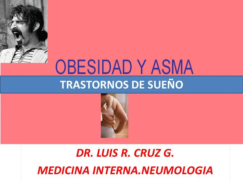 DR. LUIS R. CRUZ G. MEDICINA INTERNA.NEUMOLOGIA