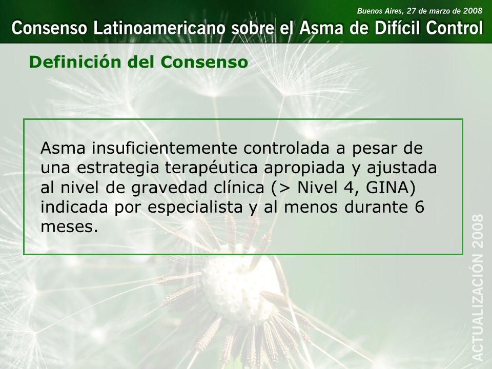 Definición del Consenso