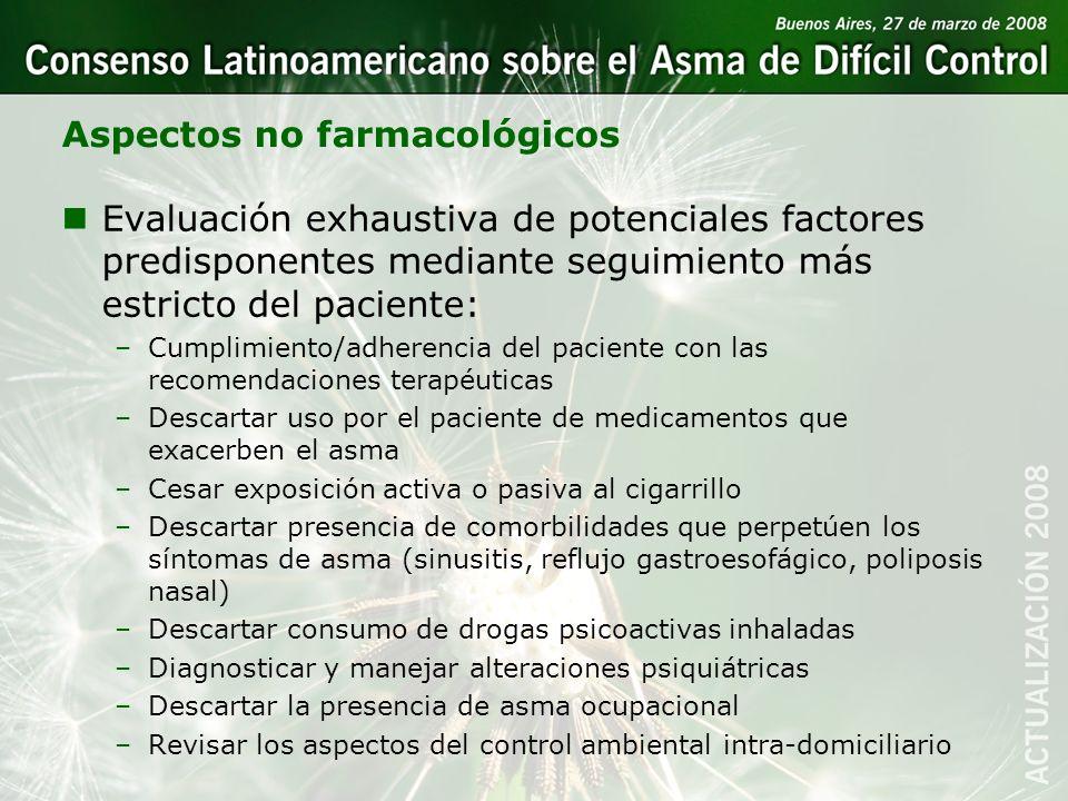 Aspectos no farmacológicos
