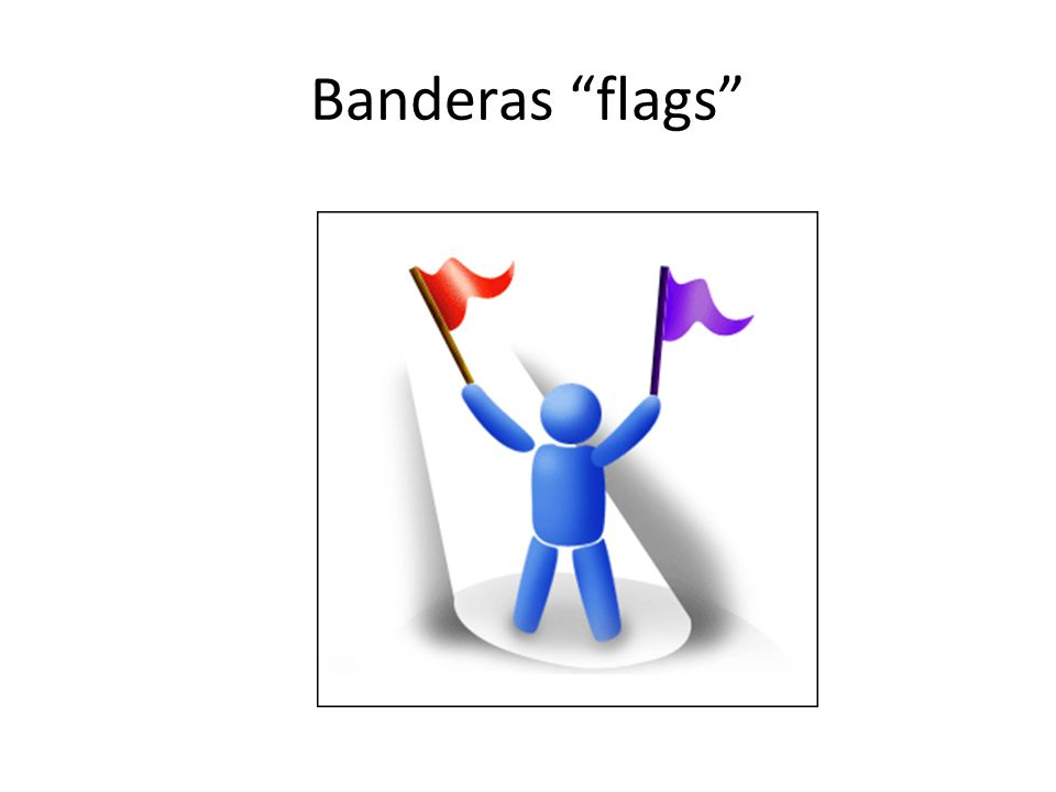 Banderas flags