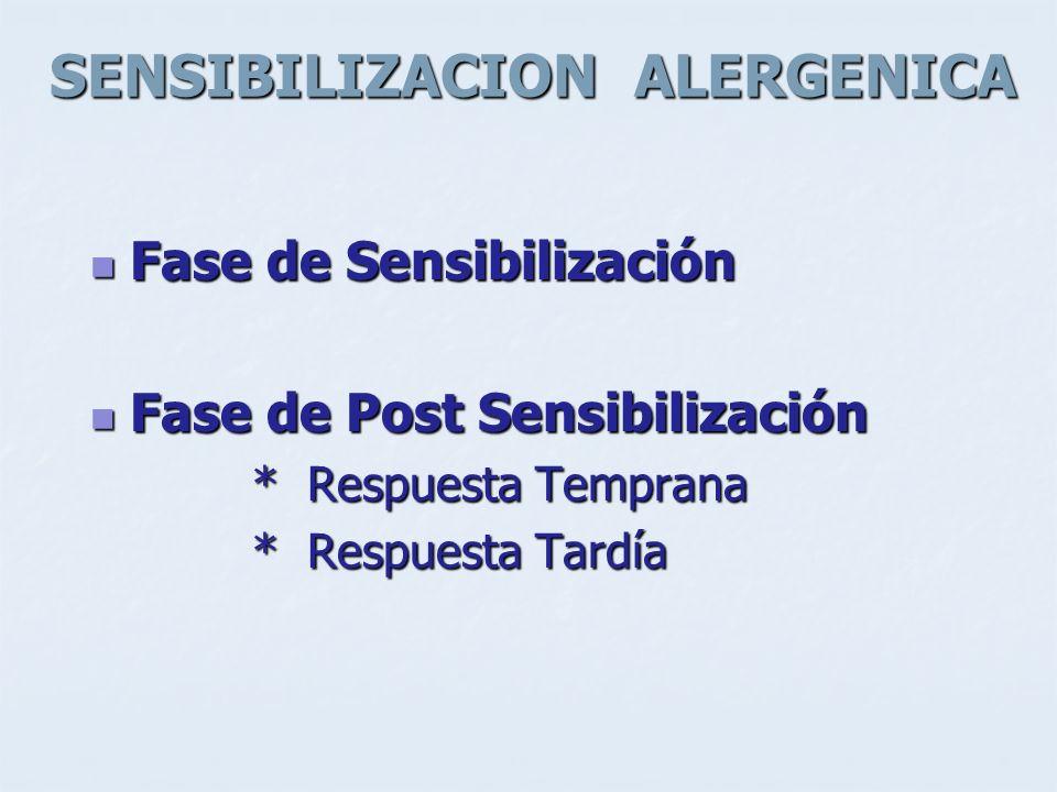 SENSIBILIZACION ALERGENICA