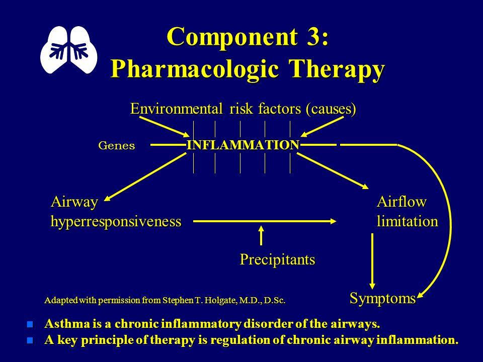 Component 3: Pharmacologic Therapy