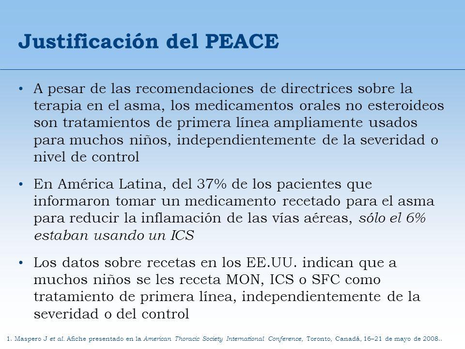 Justificación del PEACE