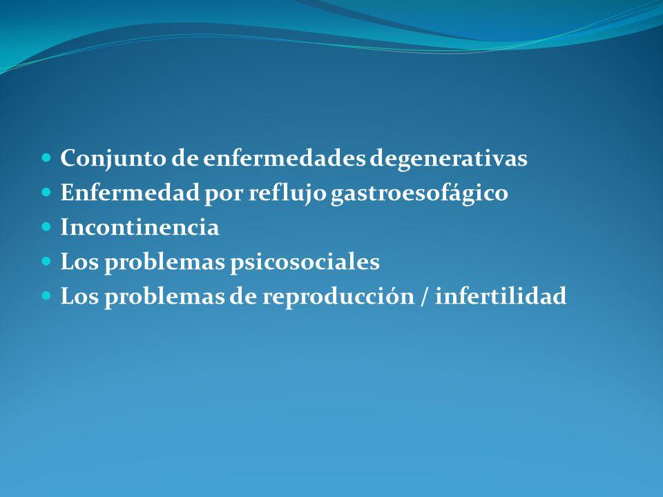 Conjunto de enfermedades degenerativas