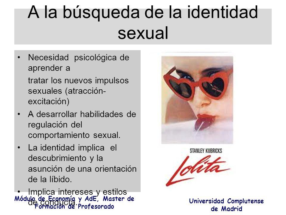 A la búsqueda de la identidad sexual