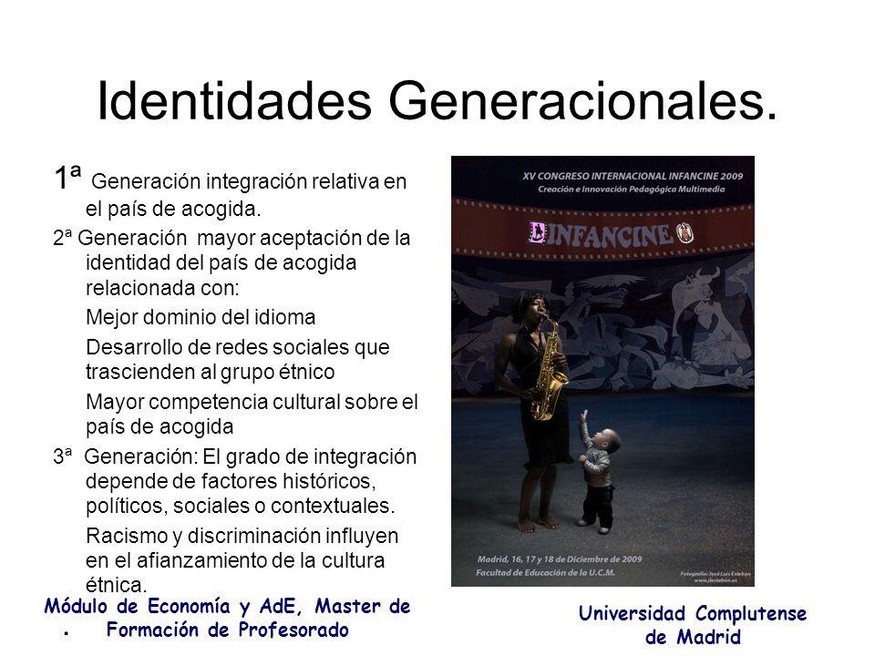 Identidades Generacionales.