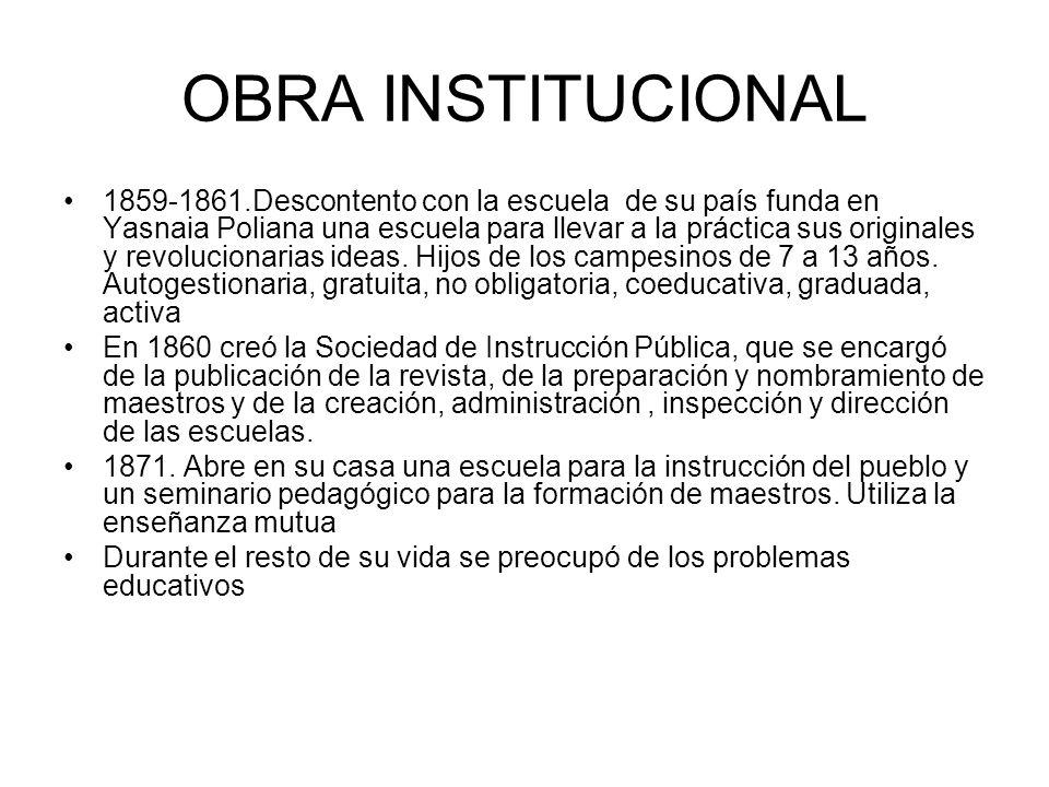 OBRA INSTITUCIONAL