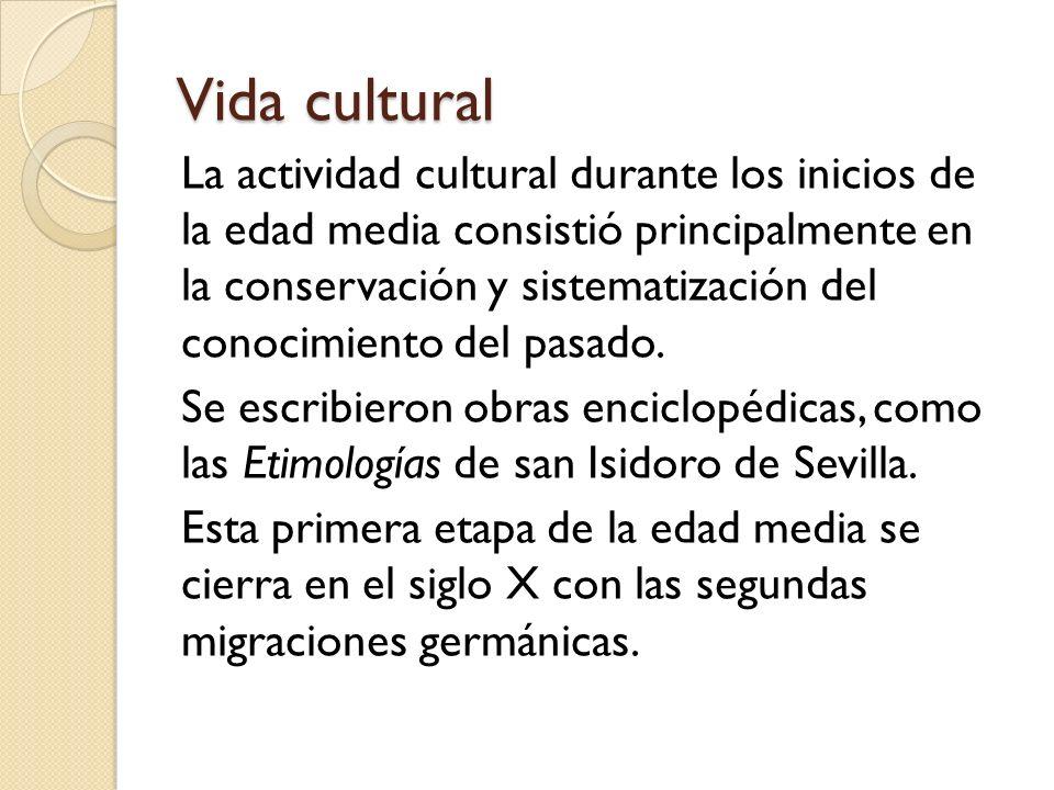Vida cultural
