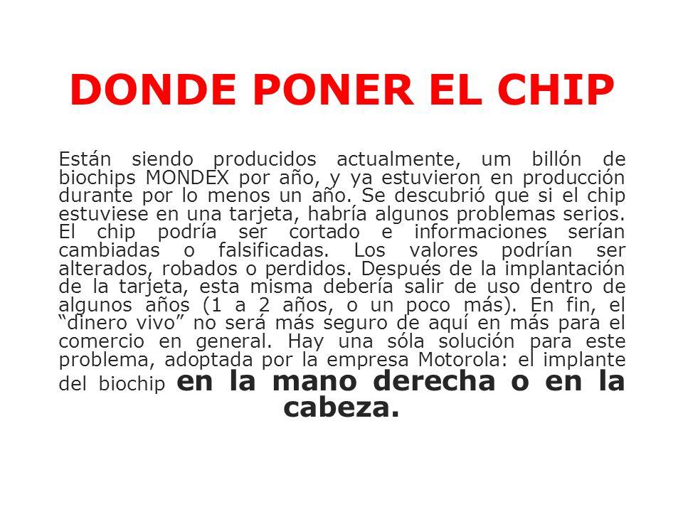 DONDE PONER EL CHIP