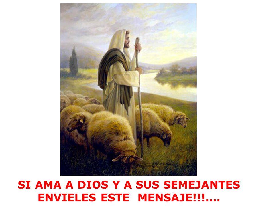 SI AMA A DIOS Y A SUS SEMEJANTES ENVIELES ESTE MENSAJE!!!....