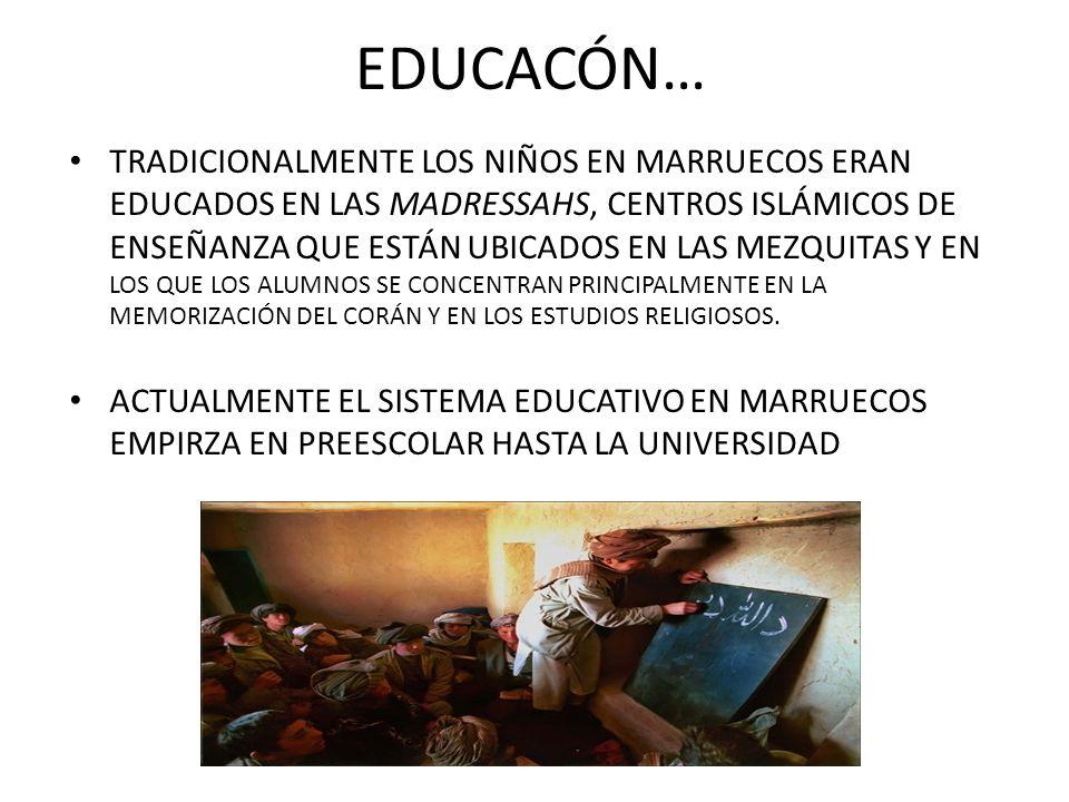 EDUCACÓN…