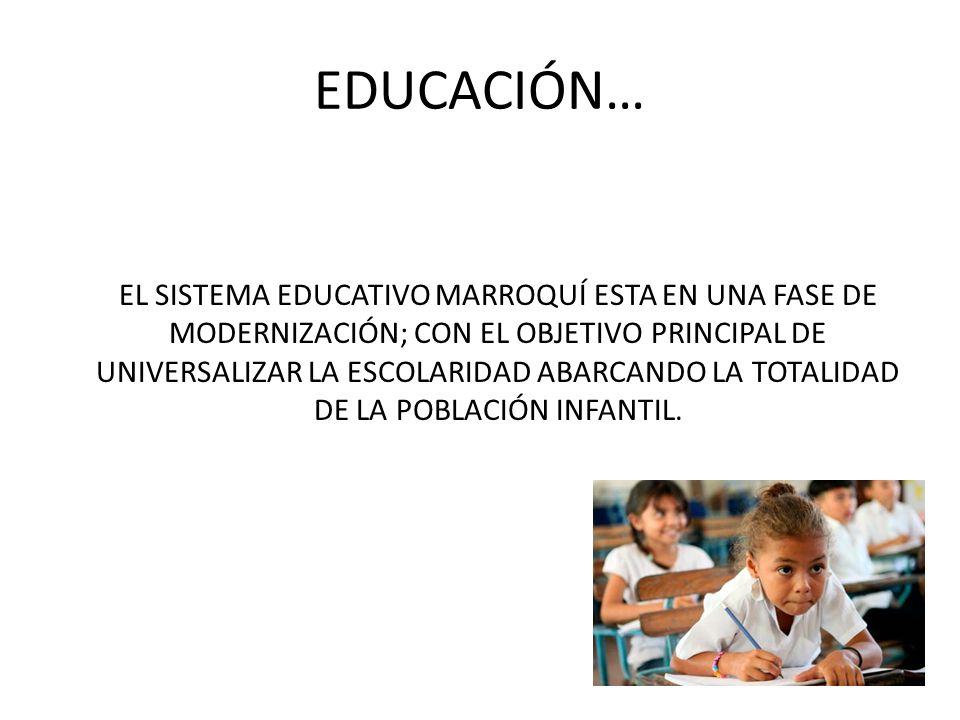 EDUCACIÓN…