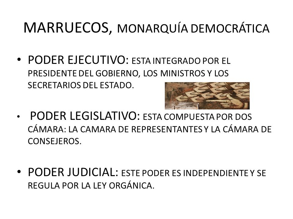 MARRUECOS, MONARQUÍA DEMOCRÁTICA