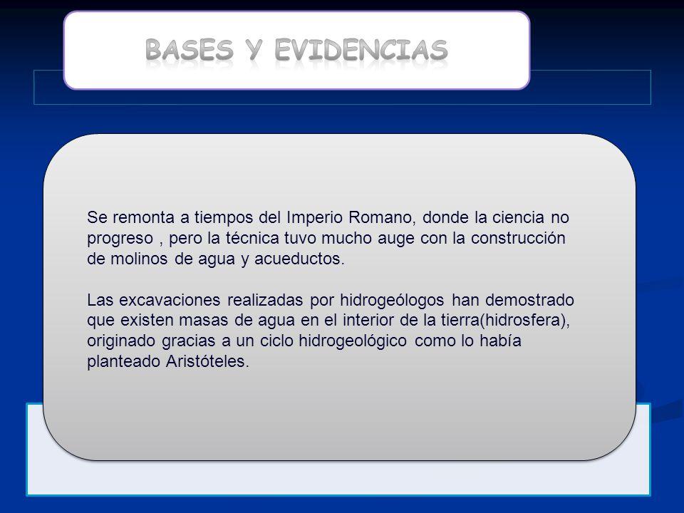 BASES Y EVIDENCIAS
