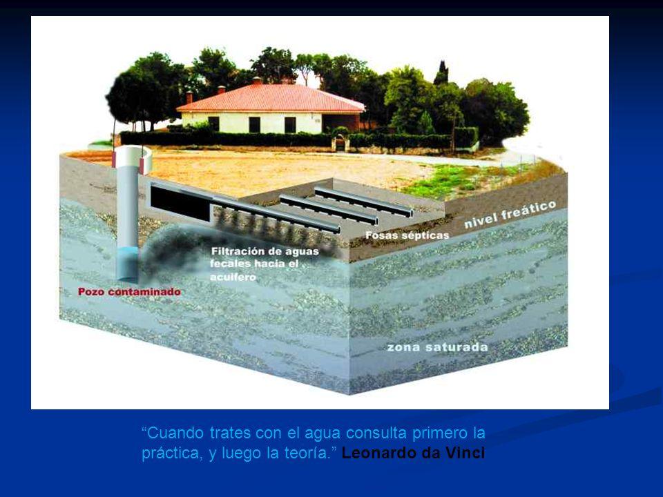 Cuando trates con el agua consulta primero la práctica, y luego la teoría. Leonardo da Vinci
