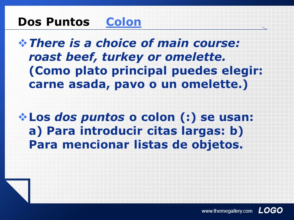 Dos Puntos Colon