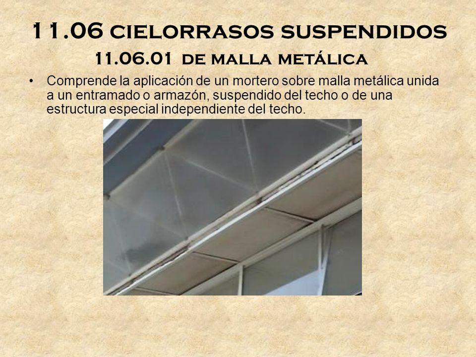 11.06 cielorrasos suspendidos